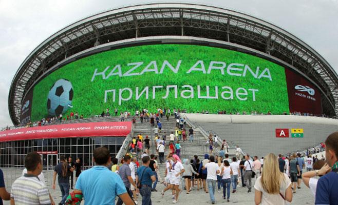 Тест-драйвом Kazan Arena станет матч между Нефтехимиком и Волгой-Олимпиец