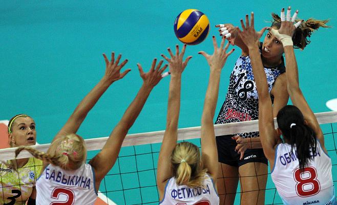 Волейболистка «Уралочки» Шинед Джек потеряла сознание наразминке перед концом женской Суперлиги