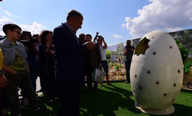 ВКазани открылся самый большой парк динозавров вРоссии
