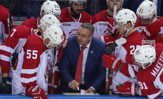 Матч регулярного сезона КХЛ «АкБарс»— «Локомотив»— впрямом эфире «МатчТВ»