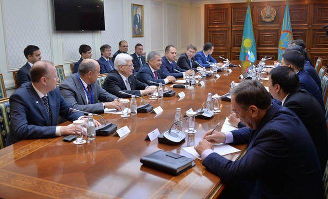 Астана заинтересована вразвитии двустороннего сотрудничества сТатарстаном