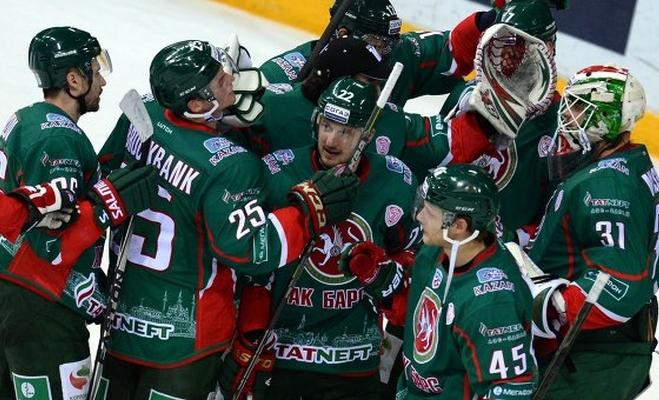 «АкБарс» и«Нефтехимик» победили всухую вгостях— КХЛ