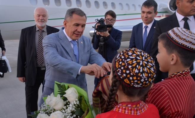 Президенты Татарстана иТуркменистана обсудят перспективы сотрудничества