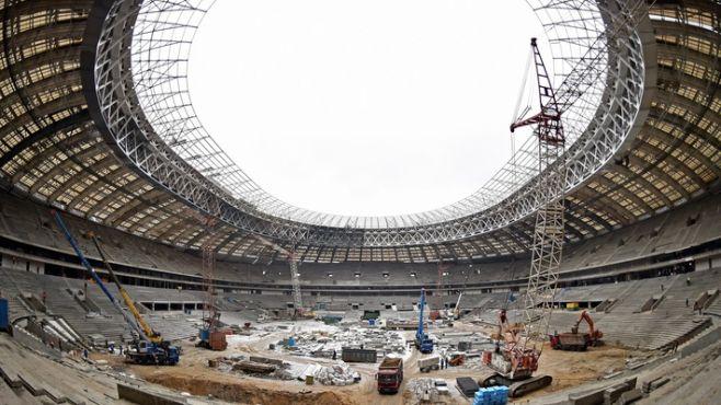 Строительство стадиона «Самара Арена» вызывает тревогу уFIFA