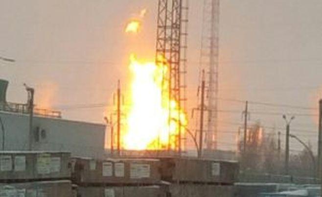 Нанефтеперерабатывающем заводе вТатарстане произошел мощный пожар