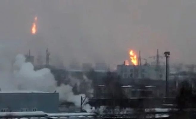 Пожар произошел настроящемся объекте ТАИФ-НК вТатарстане, пострадавших нет— МЧС