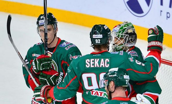 «АкБарс» вНовосибирске сразится с«Сибирью»
