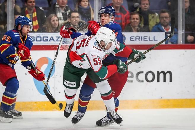 Хоккей КХЛ, Йокерит— АкБарс, прогноз матча
