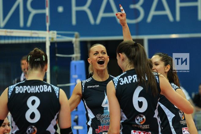 Волейболистки казанского «Динамо» выиграли Кубок ЕКВ
