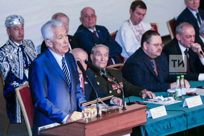 ВКазань съехались больше 700 делегатов Съезда народов Татарстана