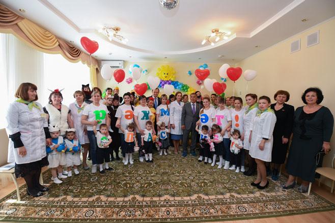 Минниханов посетил Республиканский дом ребенка вКазани