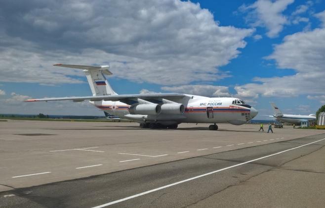 Лесные пожары под Иркутском будет тушить авиация МЧС