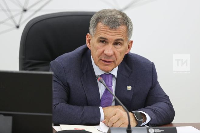 Минниханов устроил вКазанском Кремле прием наилучших семей Татарстана
