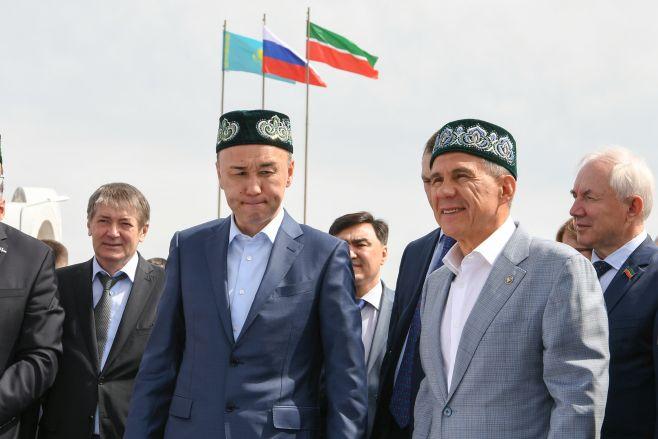 Президент Татарстана посетил празднование Сабантуя вКостанае