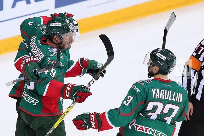 «Спартак» победил «АкБарс» вматче чемпионата КХЛ