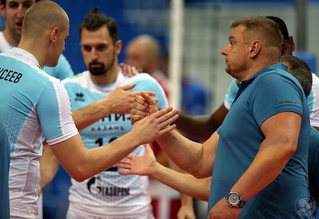 Волейбольный клуб «Зенит» одержал вторую победу вчемпионате Российской Федерации