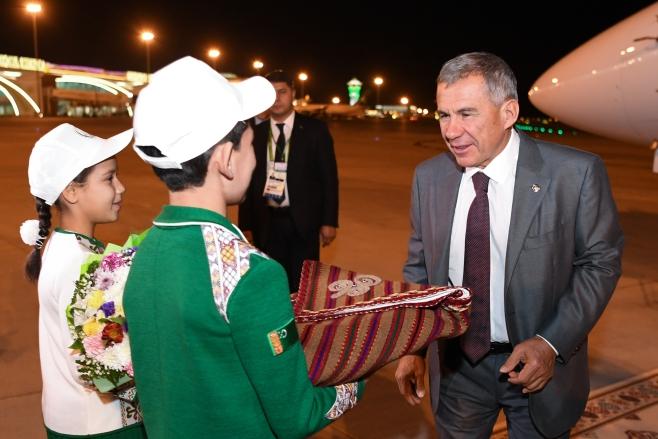 Назарбаев рассчитывает  нарасширение сотрудничества сТуркменистаном