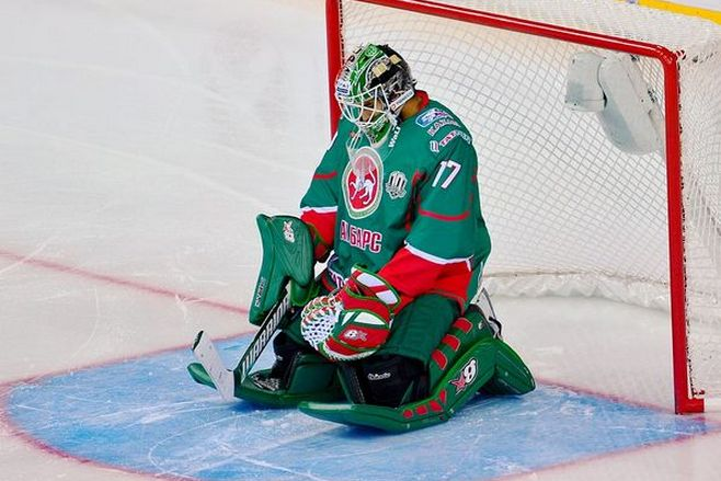 Хоккеист «АкБарса» Абросимов дисквалифицирован нашесть игр КХЛ заатаку судьи