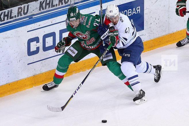 «АкБарс» победил столичное «Динамо», Зарипов забросил первую шайбу после дисквалификации
