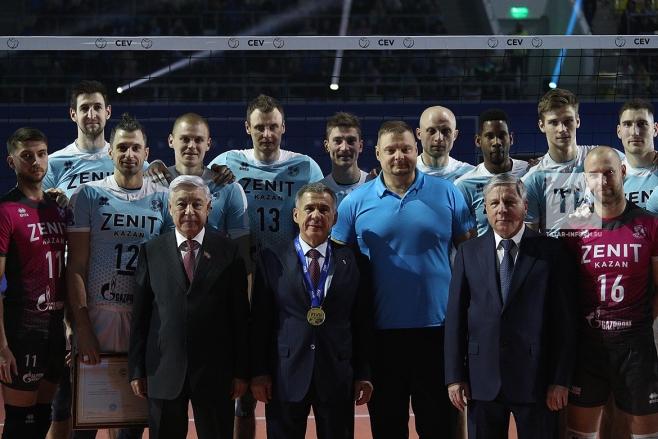 Волейболисты казанского «Зенита» победили «Берлин» вматче Лиги чемпионов