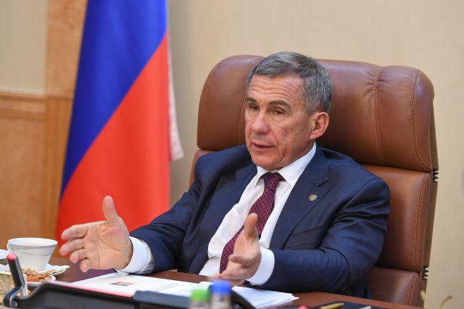 Президент Татарстана— обигре «Рубина»: «Болельщик ожидает положительных результатов, ятоже болельщик»