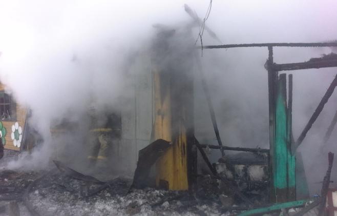 Отец идвое сыновей погибли впожаре вТатарстане