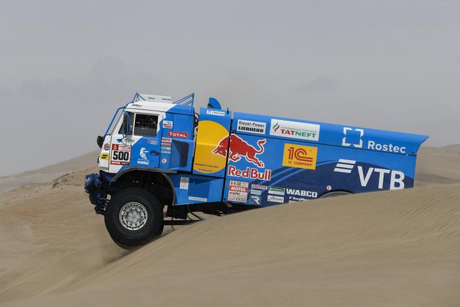 Аргентинец Вильягра стал победителем 6 этапа «Дакара» взачете фургонов