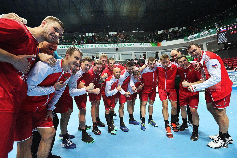 Гандбол. Сборная РФ пробилась вследующий этап отбора начемпионат мира
