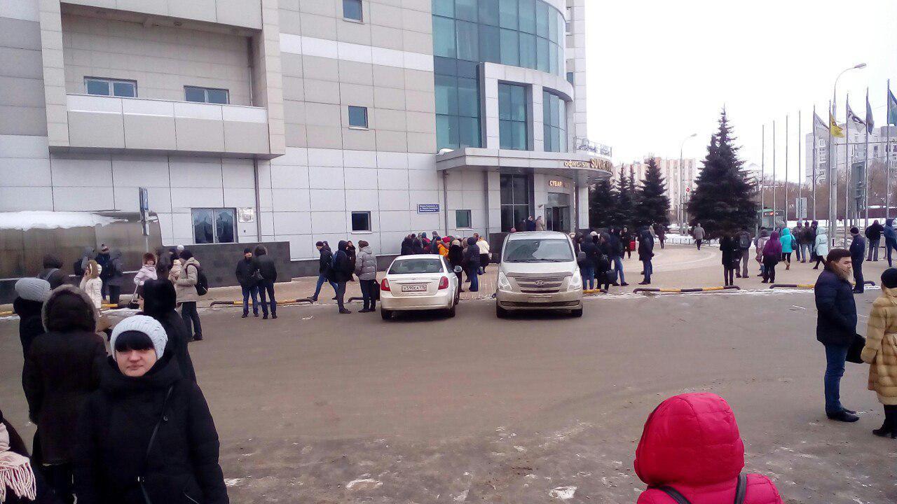 ВКазани снова эвакуация: неизвестный объявил обомбе в коммерческом центре