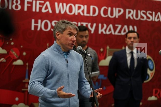 ФИФА неимеет огромных вопросов кстадиону вКазани перед ЧМ— Сорокин