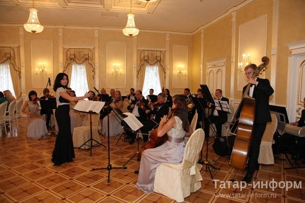 Вручение Президентом РТ госнаград России и Татарстана