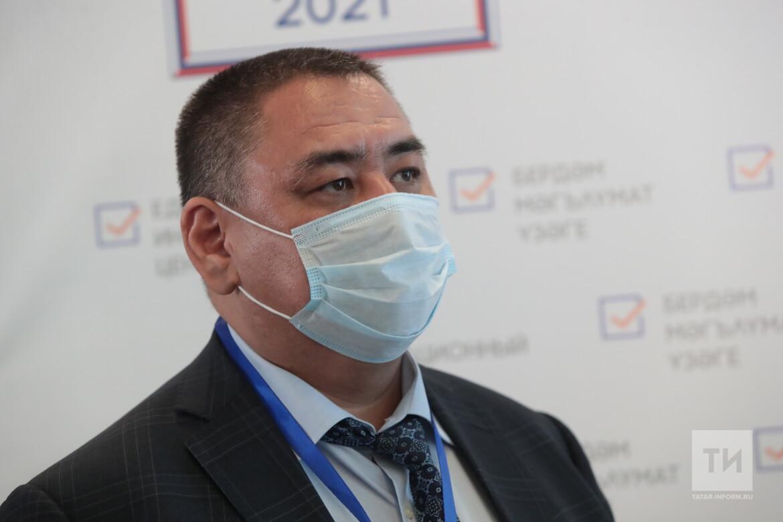 Член ЦИК Республики Казахстан Ерлан Дауылбаев