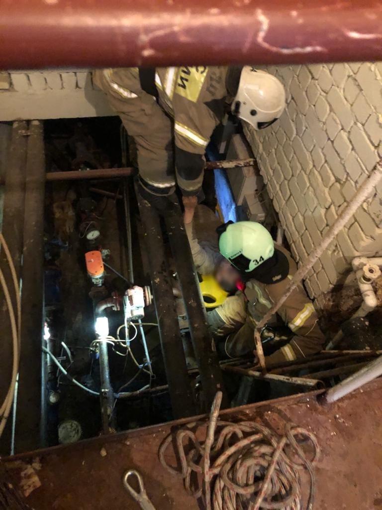 Мужчина упал в подвал в Зеленодольске