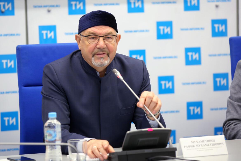 Ректор Российского исламского института Рафик Мухаметшин