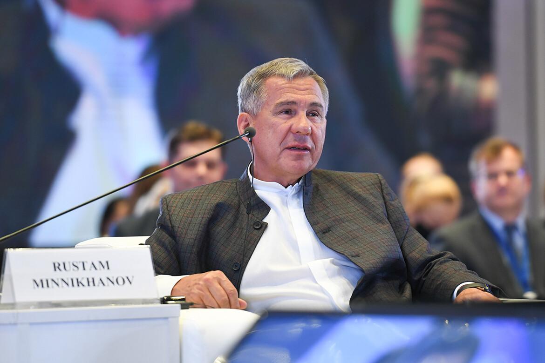 Конференция TCI Минниханов