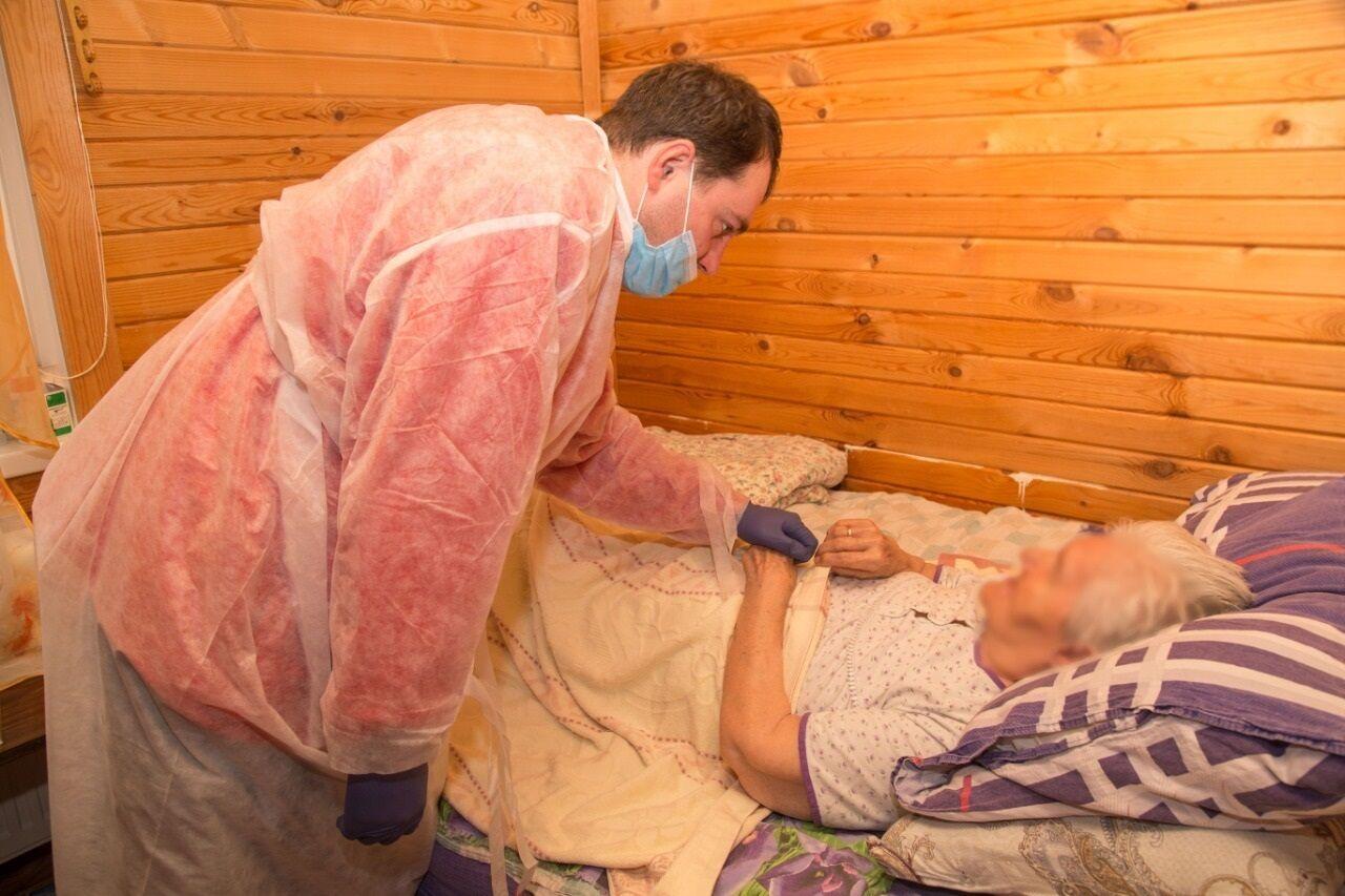Казанский хоспис организовал выездную медицинскую службу на грант Путина