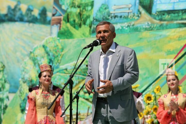 Минниханов: Сабантуй – это неотъемлемая часть культурного кода татарского народа