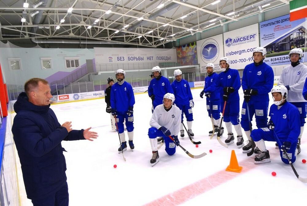 «Ак Барс-Динамо» начало второй предсезонный сбор на льду Высокой Горы
