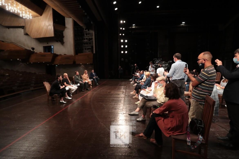 «На четырех артистов одна гримкомната»: В Казани обсудили проект здания для театра Камала