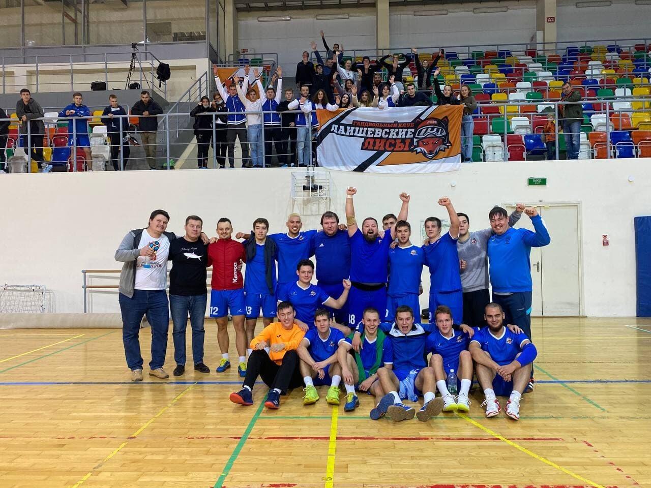 Татарстанские «Лаишевские лисы» выиграли квалификацию Кубка России по гандболу