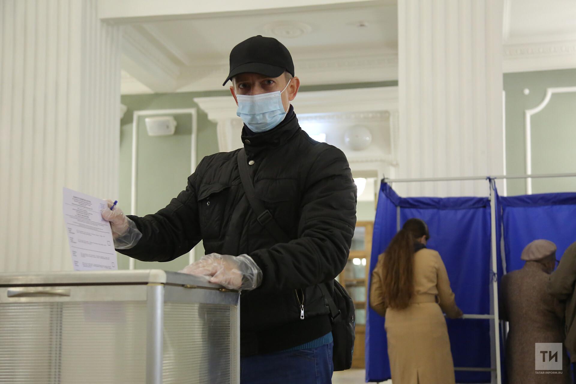 В первый день думских выборов в Татарстане проголосовали более 30% избирателей