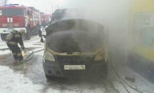 В Нижнекамске пожарные спасли машины и оборудование автосервиса