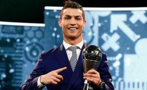 Лучшим футболистом 2016 года по версии ФИФА признан Криштиану Роналду