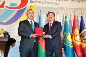 Глава ТЮРКСОЙ награжден медалью МИД Турции «За высокие заслуги»