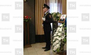 В Ижевске простились с подполковником полиции, погибшим при обрушении жилого дома