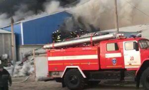 Видео: при огромном пожаре в Волгограде погибла женщина