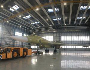 Первое фото нового Ту-160М2 производства казанского авиазавода
