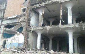В Краснодаре при обрушении стены здания пострадал рабочий