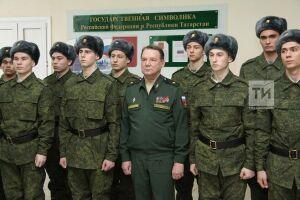 Призывников РТ проводили на службу в Президентский, Преображенский и Семеновский полки