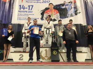 Челнинский боец Рафаэль Камалов завоевал титул чемпиона России в весе 87 кг